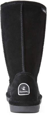 BearPaw Black Eva Suede Boots