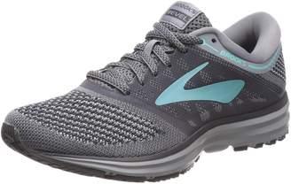Brooks Women's Revel Running Shoe (BRK-120249 1B 3936580 8.5 PLM/PNK/BLK)