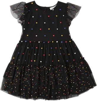 Stella McCartney Heart Appliqués Tulle Party Dress