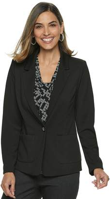 Dana Buchman Women's Travellers Solid Blazer