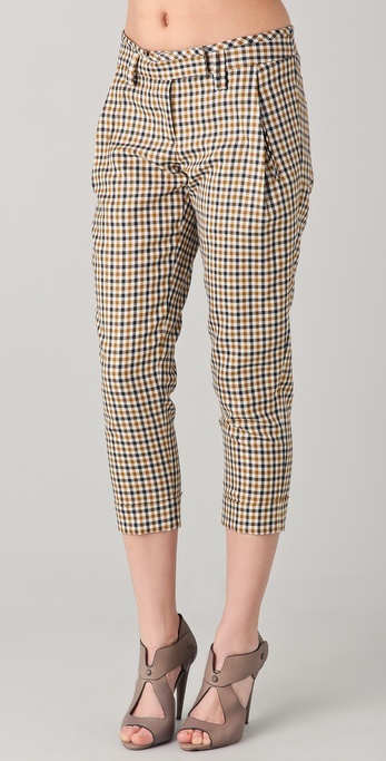 L.a.m.b. Plaid Skinny Pants