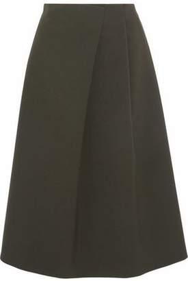 Jil Sander Crepe Midi Skirt