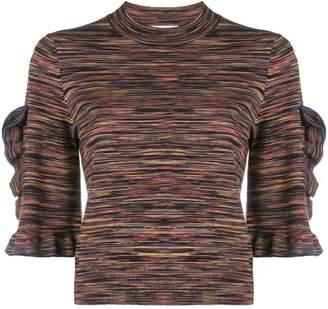 See by Chloe ruffled sweater