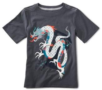 Tea Collection Chinese Dragon Graphic T-Shirt