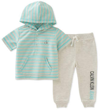Calvin Klein Two-Piece Hoodie and Jogger Set