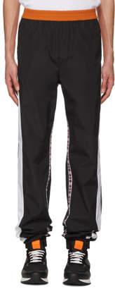 MSGM Black Line Track Pants