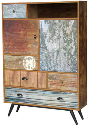 Indiana Rustic 5 Drawer Cabinet