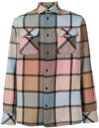 Bottega Veneta flannel check shirt