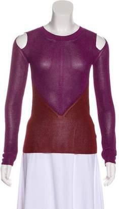 Etro Cold-Shoulder Knit Top