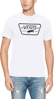Vans Full Patch Short Sleeve T-Shirt White Black