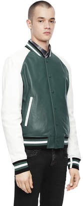 Diesel Black Gold Diesel Leather jackets BGPRZ - Green - 44