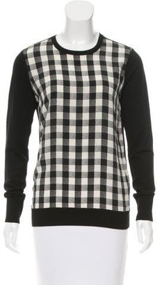Equipment Silk Gingham Top $65 thestylecure.com