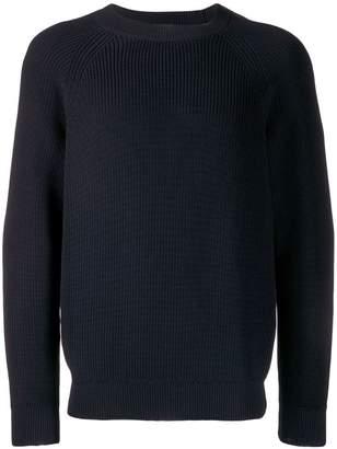 A.P.C. ribbed knit jumper