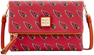 Dooney & Bourke NFL AZ Cardinals Foldover Crossbody