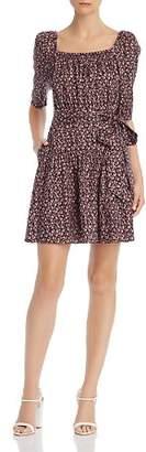 Rebecca Taylor Francesca Floral-Print Dress