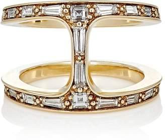 HOORSENBUHS Women's Baguette Phantom Cage Ring