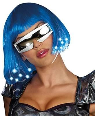 Dreamgirl Light Up Wig Dress