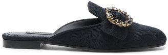 Dolce & Gabbana Brocade Mules $695 thestylecure.com