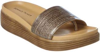 Donald J Pliner Fiji Patent Sandal