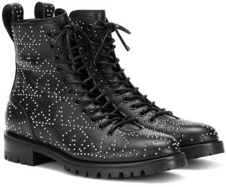 Jimmy Choo Cruz Flat leather ankle boots
