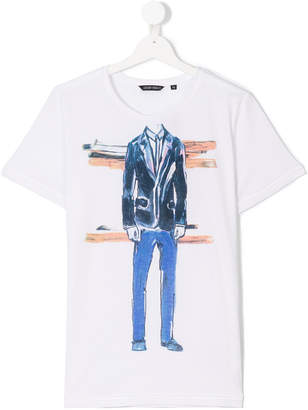Antony Morato Junior TEEN catwalk print T-shirt