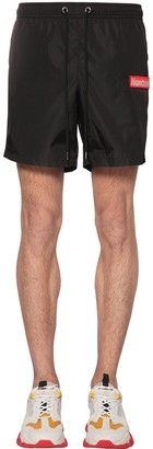 Moncler Boxer Mare Nylon Swim Shorts
