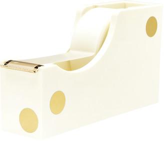 Kate Spade Cream and Gold Dot Tape Dispenser
