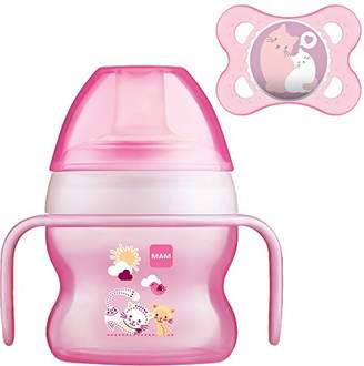 Mam Starter Cup Soother, 150 ml, Pink