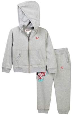 True Religion Butterfly Hook Up Hoodie Set (Toddlers Girls)