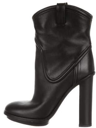 Gucci Leather Ankle Boots Black Leather Ankle Boots