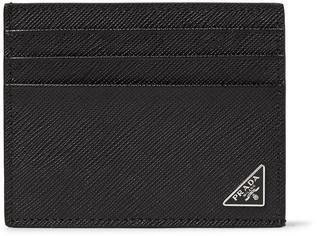 Prada Cross-Grain Leather Cardholder $230 thestylecure.com
