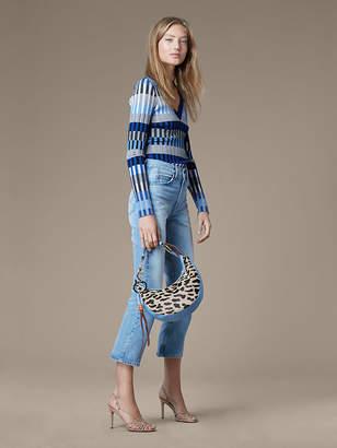 Diane von Furstenberg Levi's 517 Cropped Bootcut Jeans