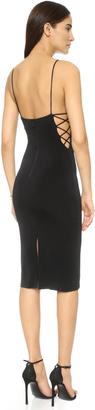 alice + olivia AIR Kia Side Strap Mid Length Dress $264 thestylecure.com