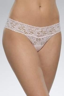 Hanky Panky Lace Lowrise Thong