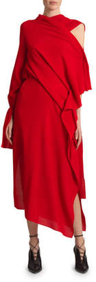 Roland Mouret Carmel Wool Crepe Dress