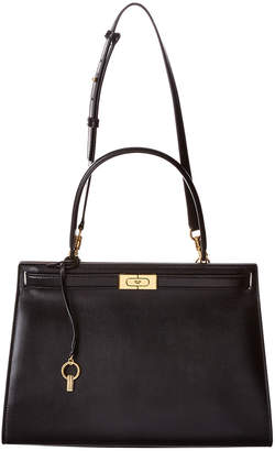 Tory Burch Lee Radziwill Larger Leather Satchel