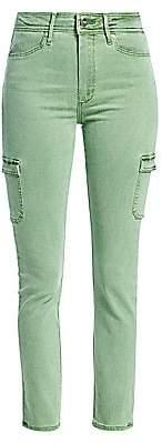 Paige Women's Military Cargo Skinny Jeans