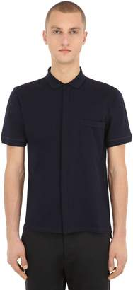 Falke Luxury Cotton Piqué Polo Shirt