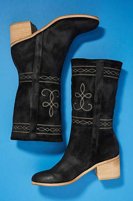 Silent D Western Midi Boots