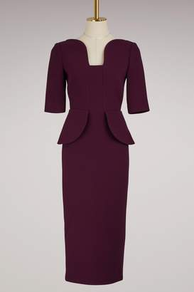 Roland Mouret Comberton wool crepe dress