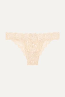 Cosabella (コサベラ) - Cosabella - Never Say Never Minikini Stretch-lace Briefs - Neutral