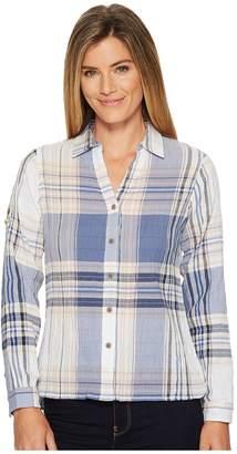 Woolrich Eco Rich Carabelle Convertible Shirt Women's Long Sleeve Button Up