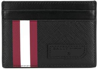 Bally stripe detail cardholder