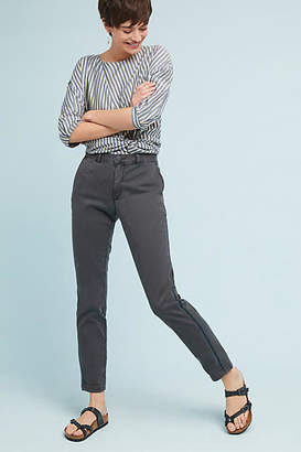 Anthropologie Chino by Striped Chino Trousers