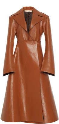 Clipper Calf Leather Coat