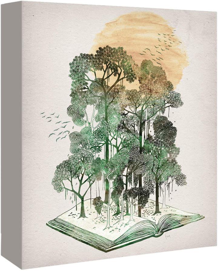 Americanflat Jungle Book by David Fleck (Canvas)