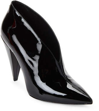 Stella Luna Patent Pointed Toe Booties
