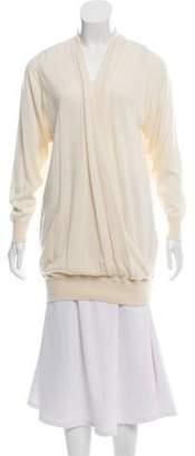Malo Cashmere Knit Sweater Cream Cashmere Knit Sweater