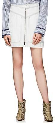 Etoile Isabel Marant Women's Ioline Denim Miniskirt - Lt. Blue