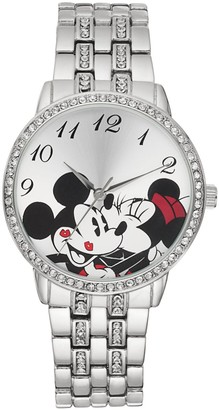 Disney Disney's Mickey & Minnie Mouse Women's Crystal Watch